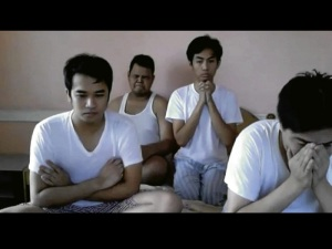 "photo of the now ""classic"" 2010 ms. universe pageant reaction on youtube"