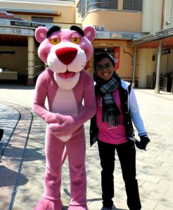 luis with pink (not the singer but the stuffed toy)
