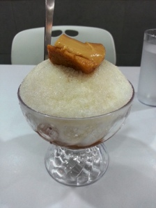 don't be fooled by the lucid and incomplex look of this halo-halo.  heaven is lodged beneath those shaved ice
