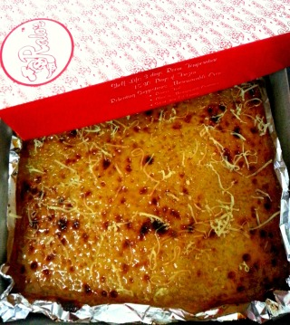 ralo's cassava cake.  fattening? yes... but such a small price to pay for pleasure