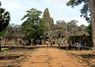 the bayon... a bizarre bonus treat