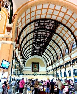 still operational, still iconic --- saigon post office