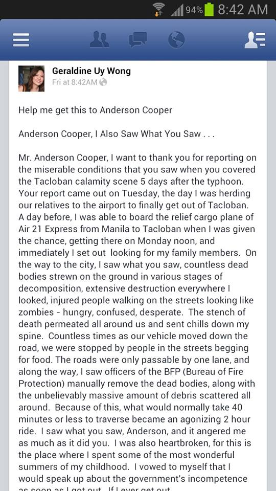 A Long Letter To Anderson Cooper From Somebody Else Nengkoy