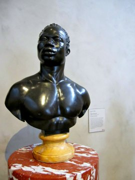 bust of a man by francis harwood