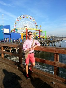 fun-filled sta. monica pier, california