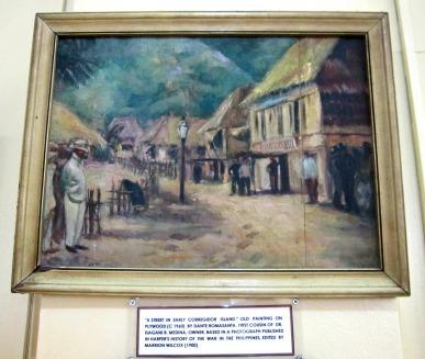 a street in early corregidor by dante romasanta