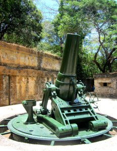 the guns... one of the popular fixtures in corregidor