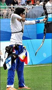 a true green archer in every sense of the word (photo grabbed from philippinestar.com)