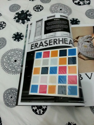 "CD containing ""Sabado"" and ""1995"", the two news songs of eraserheads"
