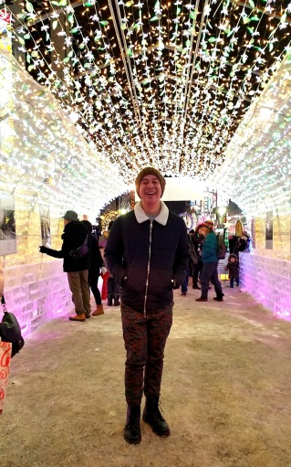 cool sparkling tunnel