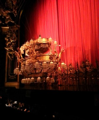 phantom of the opera will not be complete without the iconic chandelier