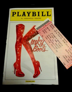 my ticket and my playbill