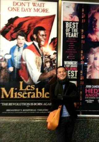 broadway here i come...