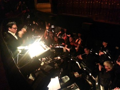 the orchestra!
