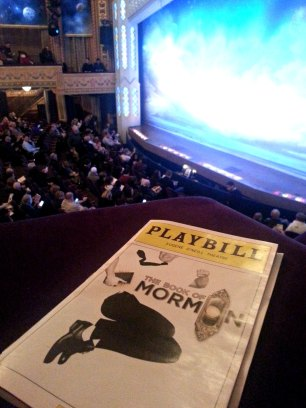 my view and my playbill