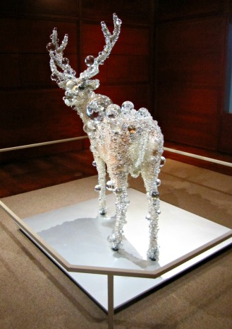 pix-cell deer by kohei nawa