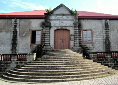 escuela pia, the cultural center of taal