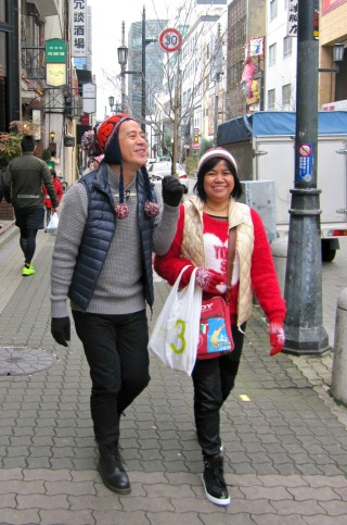 me and ate gaying love osaka!