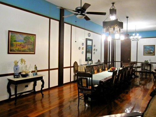 "filipino dining area also known as ""hapag kainan"""