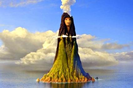 lady volcano