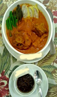 the chosen one!!! the authentic good old kare-kare