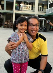 mar roxas  (photo grabbed from mar roxas' facebook page)