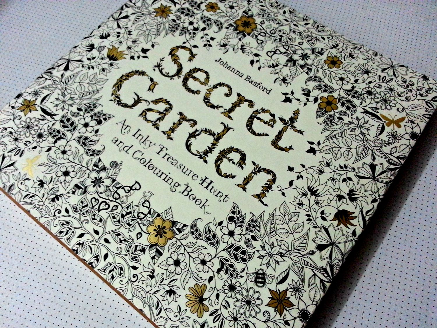 the book itself uncolored is gorgeous - My Secret Garden Coloring Book