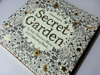 the book itself, uncolored, is gorgeous!
