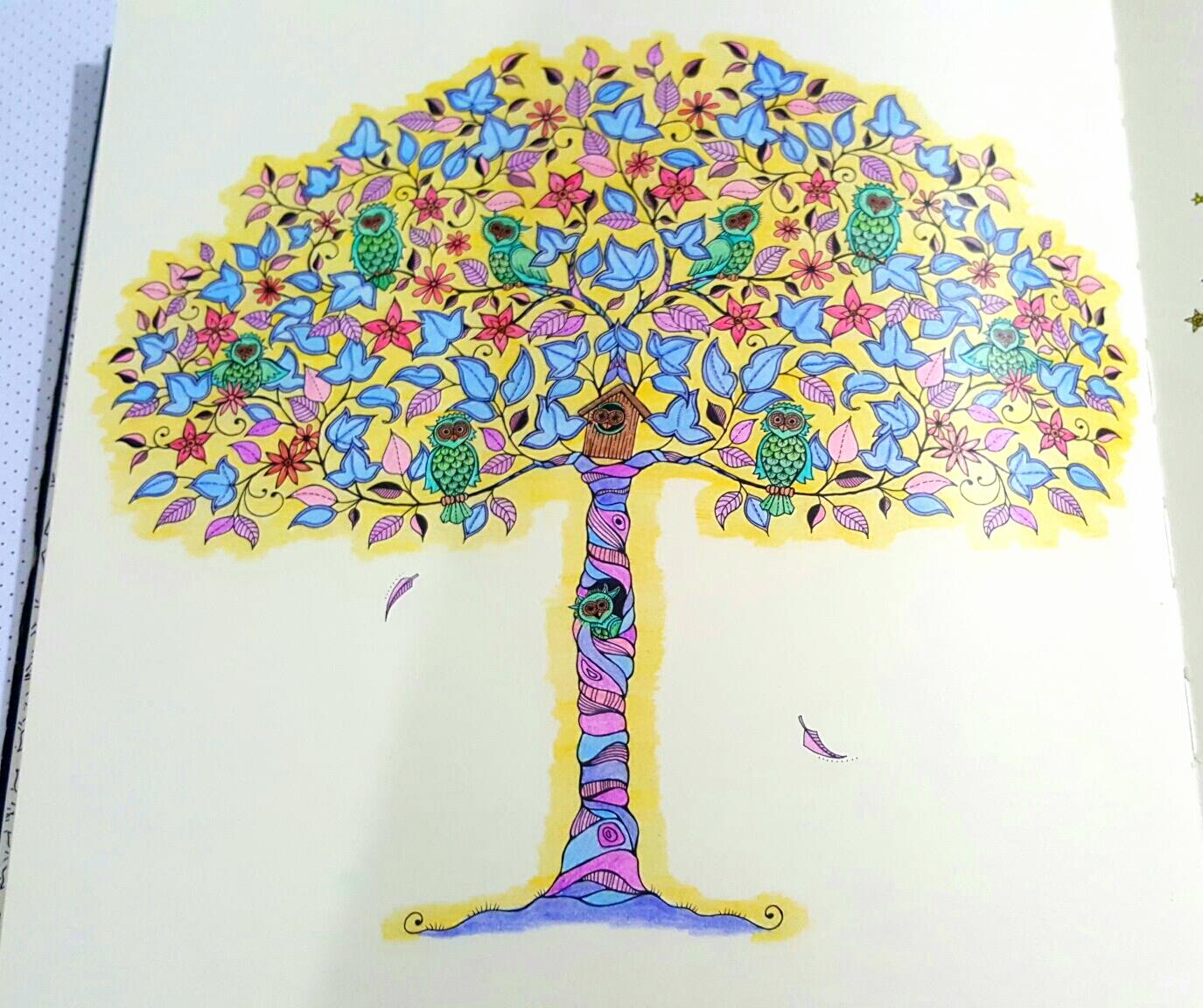 My First Mandala Tree The Owls