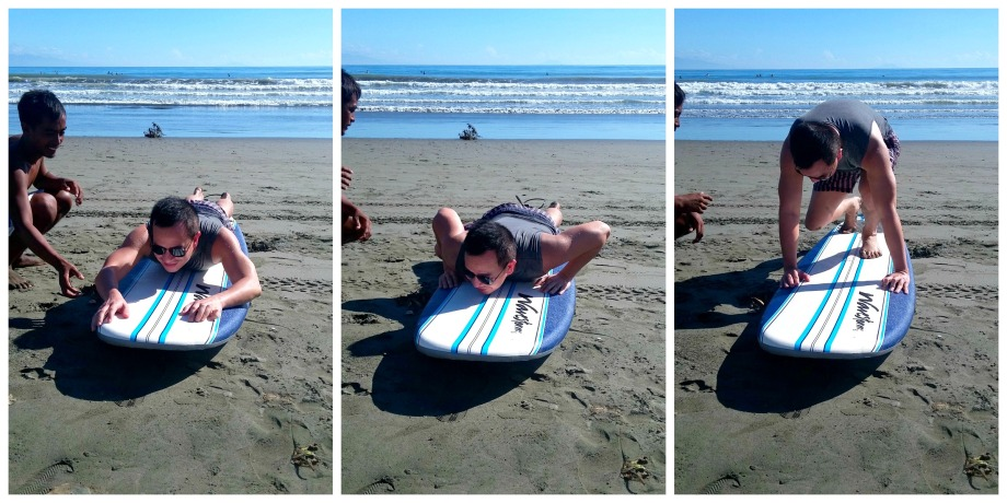 trip to baler is incomplete if without surfing...