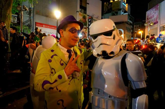 the riddler and the stormtrooper