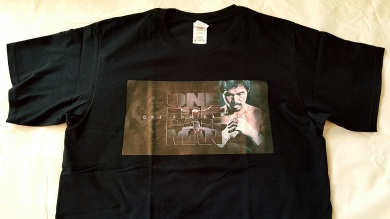 the personalized shirt i would use during boxing events of manny. i don't know what to do with it now... its eating some precious space nn my cabinet...