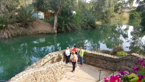 a silent side of the jordan river...