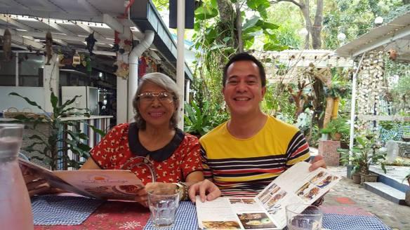 nengkoy & me at rustic mornings