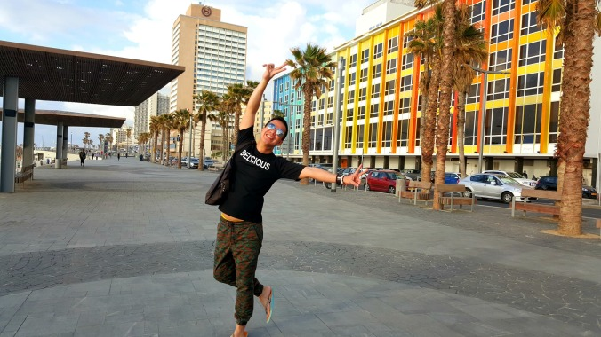 where fun is supposed happen! (in front of the iconic dan hotel)