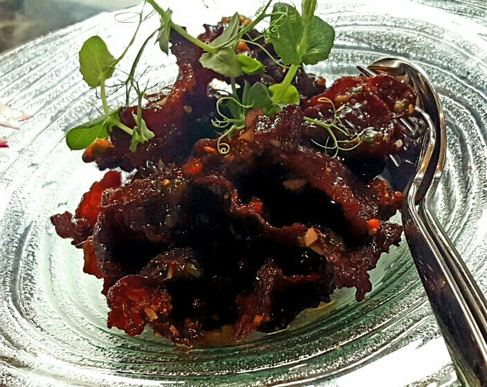 Thin Crispy Beef... my personal favorite