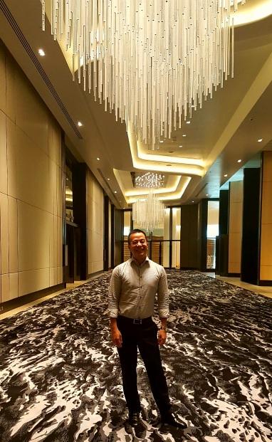 inside Conrad Hotel Manila