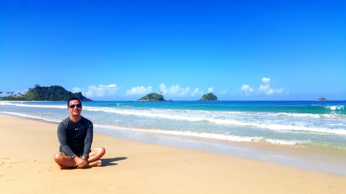 got Nacpan Beach in El Nido  all for myself