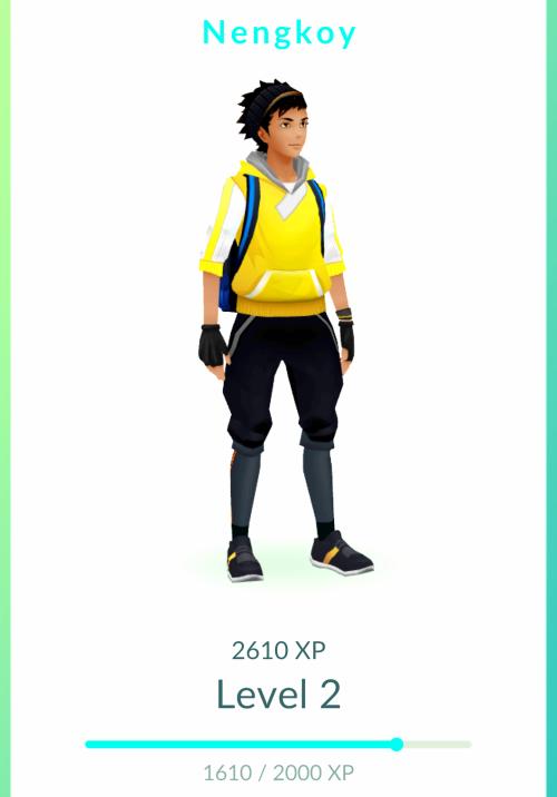 stylish pokemon go avatar... appropriately named NENGKOY