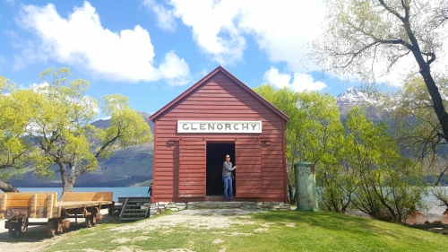 wharf shed in glenorchy