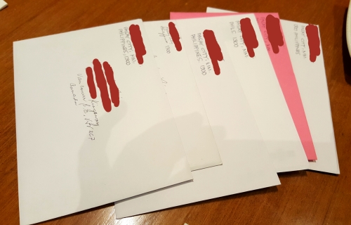 nengkoy's snail mails