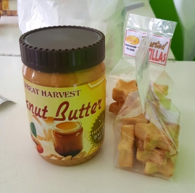 my new favorite peanut butter plus the usual nengkoy's favorite fried pastillas (for pasalubong)